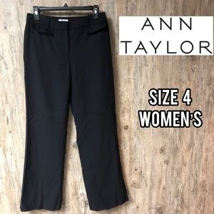 Ann Taylor LOFT black work pants